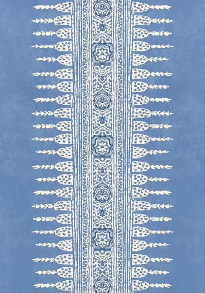 Javanese Stripe - Wedgewood Blue