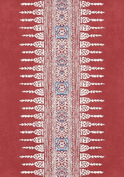Javanese Stripe - Red