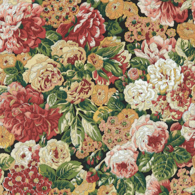 Rose And Peony - Amanpuri Red / Devon Green