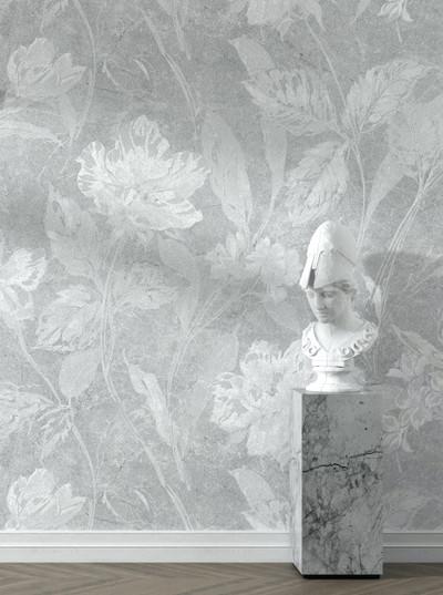 Mural - Abbess Grey (Per Sqm)
