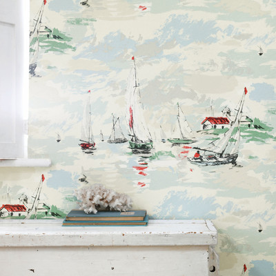 Sail Away - Sea Green
