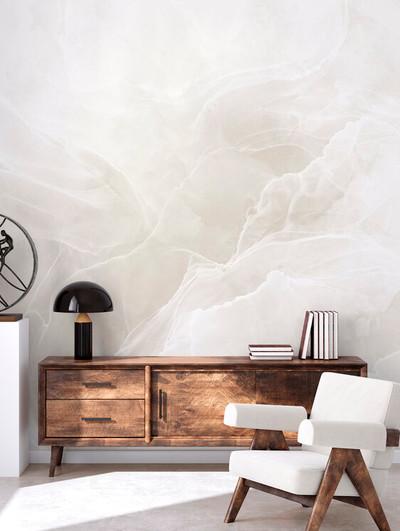 Mural - Marble Breeze Ivory (Per Sqm)