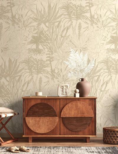 Mural - Succulent Beige (Per Sqm)
