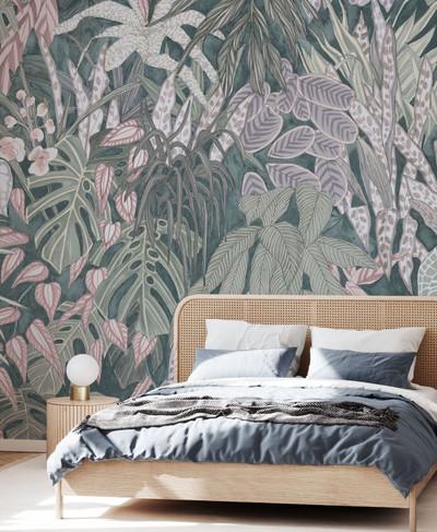 Mural - Tanglewood Wall Pastel (Per Sqm)