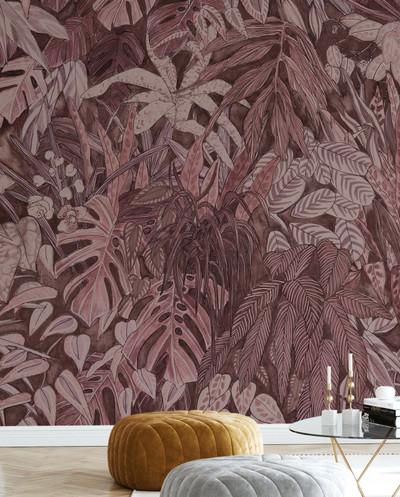 Mural - Tanglewood Wall Clay (Per Sqm)
