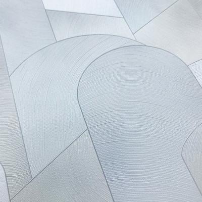 3D Geometric Graphic - Light Grey / Silver
