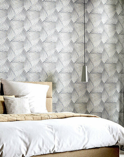 Geometric D Triangle - Grey / Gold