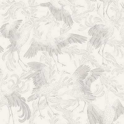 Dancing Crane - White / Neutrals