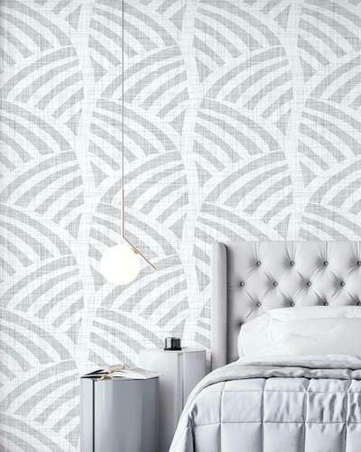 Mural - Zola Geo Soft Grey (Per Sqm)