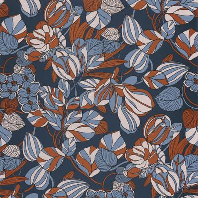 Tulipe - Rust / Blue