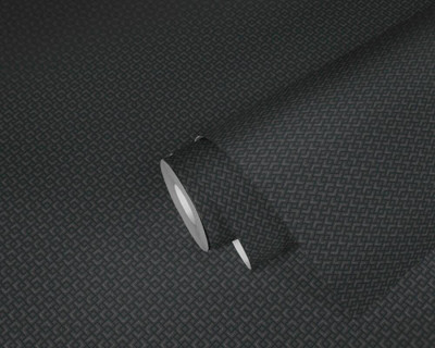 Metallic Maze - Black