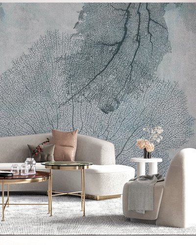 Mural - Coral Leaves I (Per Sqm)
