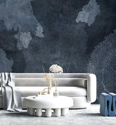 Mural - Coral Leaves IV (Per Sqm)