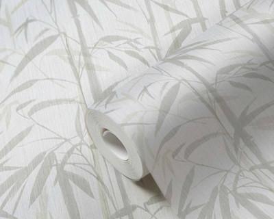 Clive Bamboo - Beige / Cream