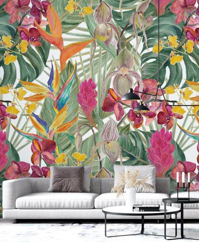 Mural - Orhidea (Per Sqm)