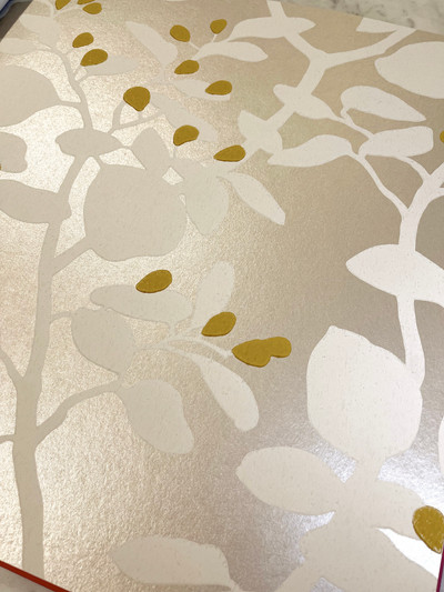 Ardisia - Oyster / Gold