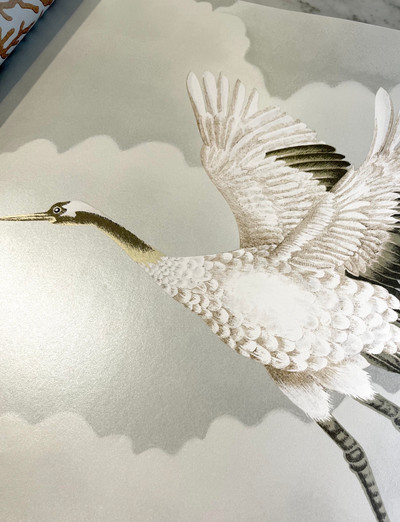 Cranes In Flight - Platinum