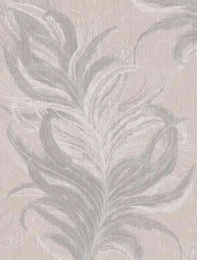 Feathers  - Cream / Grey