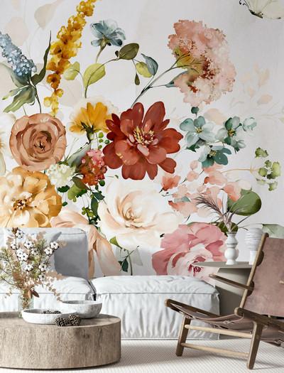 Mural - Poppy (Per Sqm)