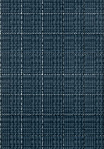 Grassmarket Check - Navy Blue