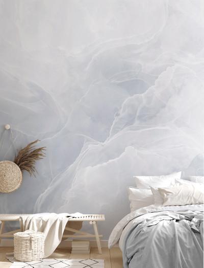Mural - Marble Breeze Blue (Per Sqm)
