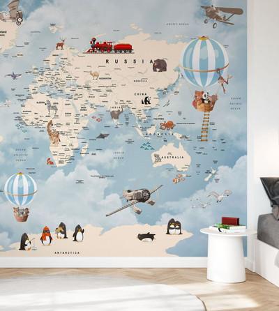 Mural - Animals Home Map (Per Sqm)