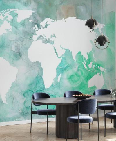 Mural - Dreaming of Earth (Per Sqm)