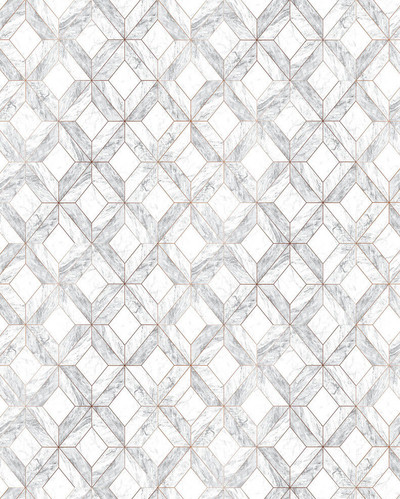 Marble Marquetry - Grey