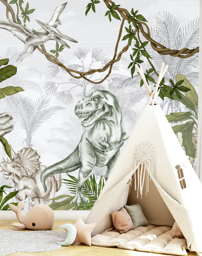 Mural - Jurassic World (Per Sqm)