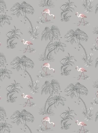 Flamingo Lake - Grey