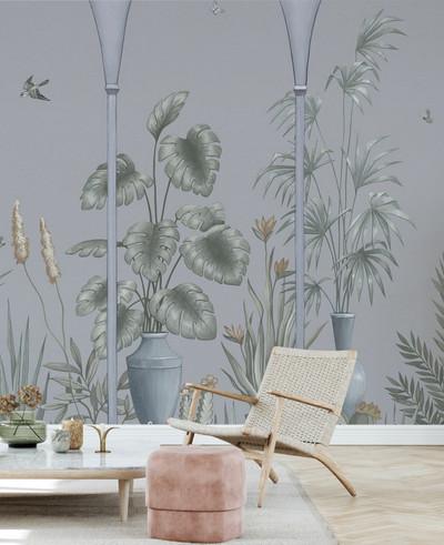 Mural - Fairytale Terrace Sage (Per Sqm)