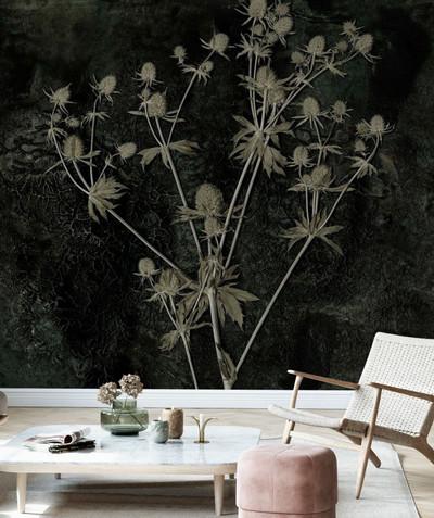 Mural - Sea Holly (Per Sqm)
