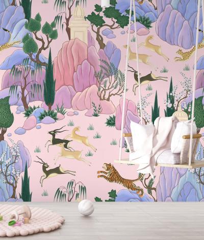 Mural - Hunter Pink (Per Sqm)