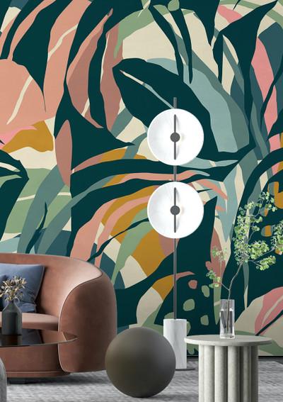 Mural - Abstract Tropics I (Per Sqm)