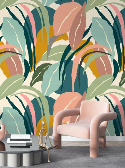 Mural - Abstract Tropics II (Per Sqm)