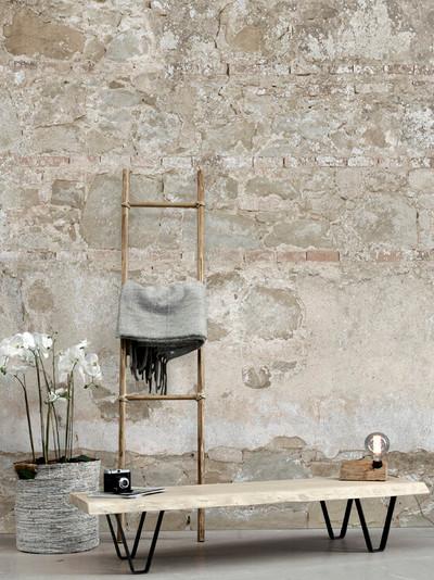Mural - Bright Stone Wall (Per Sqm)