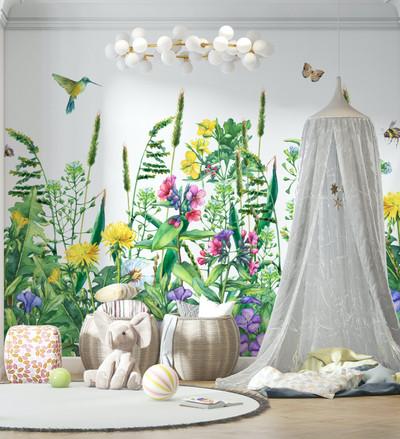 Mural - Flower Field (Per Sqm)
