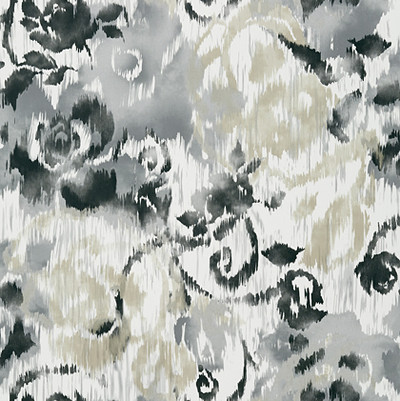 Waterford Floral - Charcoal