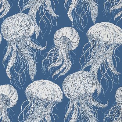 Jellyfish Bloom - Navy