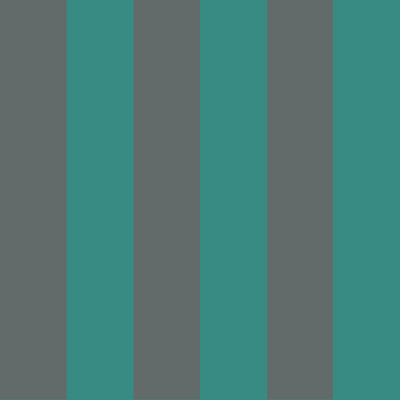GLASTONBURY STRIPE - TEAL & BLACK