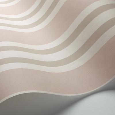 Polo Stripe - Blush & Linen