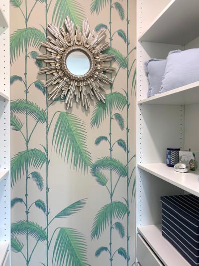 Palm Leaves - Linen