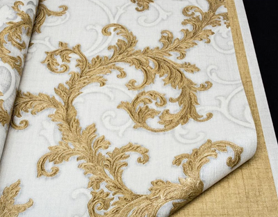 Baroque & Roll - White & Gold