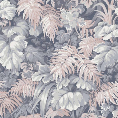 Royal Fernery - Slate & Blush