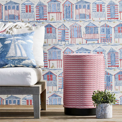Beach Huts - Nautical