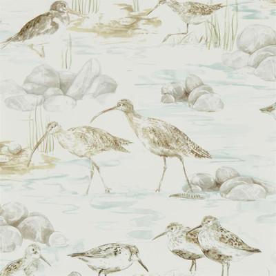 Estuary Birds - Mist/ivory