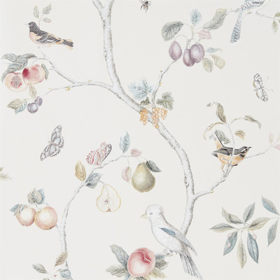 Fruit Aviary - Cream/multi