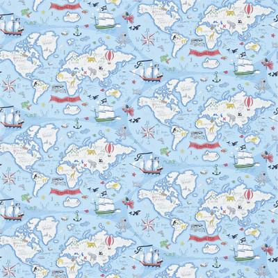 TREASURE MAP - SEA BLUE