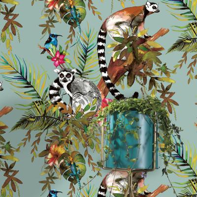 Lemur - Soft Teal