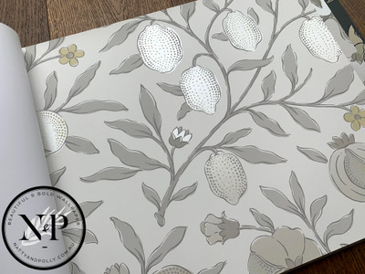 Pure Fruit - Poppy / Grey